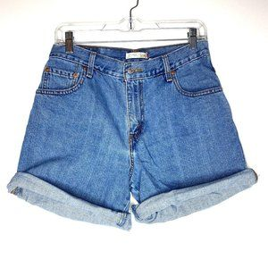 Vintage Levis 550 Relaxed Fit High Waisted Shorts